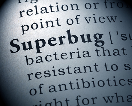 Image With Definition of Superbug